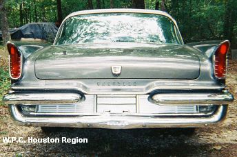 rear view of 1959 Chrysler Saratoga For Sale